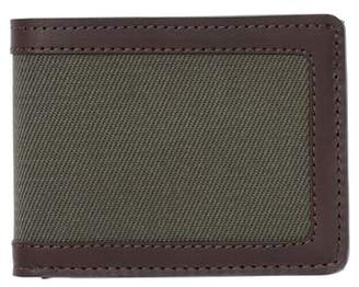 Filson Filsone Outfitter Leather & Canvas Bifold Wallet