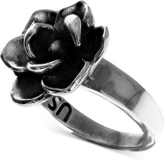King Baby Studio Women's Magnolia Ring in Sterling Silver