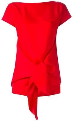 Nina Ricci tied front blouse