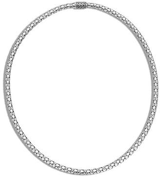 John Hardy Dot Slim Chain Necklace with Pusher Clasp