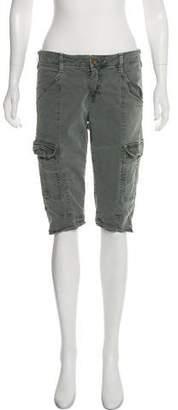 J Brand High-Rise Cargo Shorts