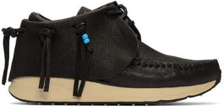 Visvim Black FBT Moccasin Sneakers
