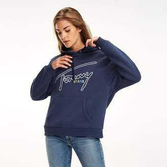 0e464ac2 Tommy Hilfiger Blue Sweats & Hoodies For Women - ShopStyle UK