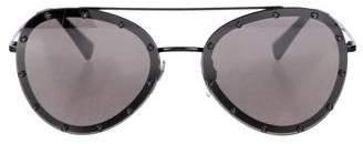 Valentino Studded Aviator Sunglasses w/ Tags