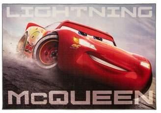 "Cars 4'6""X6'6"" Disney McQueen Gary Rug"