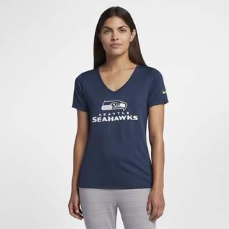 Nike Dri-FIT V-Neck (NFL Seahawks) Women's T-Shirt
