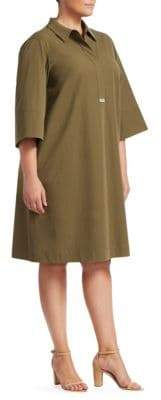 Lafayette 148 New York Lafayette 148 New York, Plus Size Cara Cotton Dress