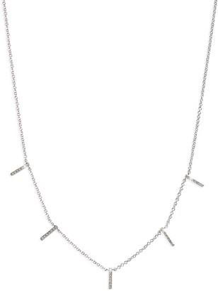 Ef Collection Diamond Collar Necklace