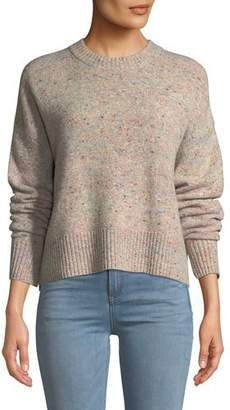 A.L.C. Emmeline Speckled Wool-Cashmere Sweater