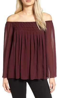 Women's Bailey 44 Helena Off The Shoulder Blouse $178 thestylecure.com
