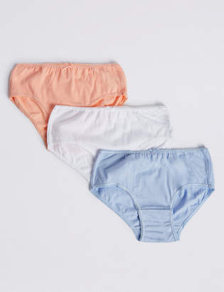 Marks and Spencer 7 Pack Pure Cotton Briefs (18 Months - 12 Years)