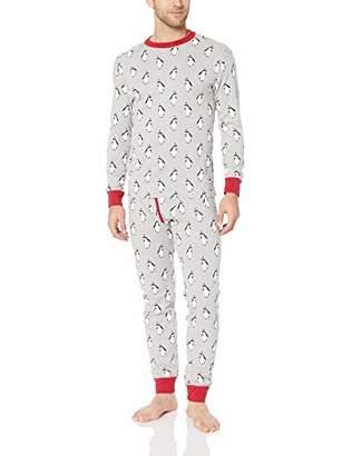 Amazon Essentials Men's Knit Pajama Set