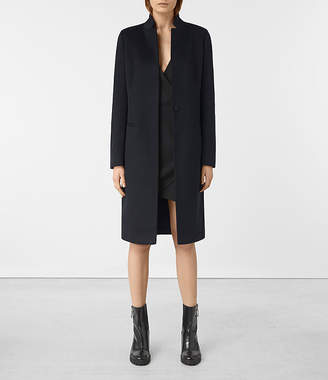 AllSaints Ebony Coat