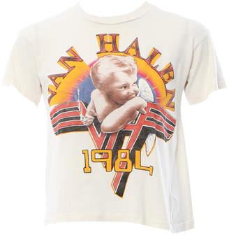 MadeWorn Van Halen 1984 Crop Tee