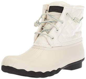 Sperry Women's Saltwater Quilted Lux Rain Boot