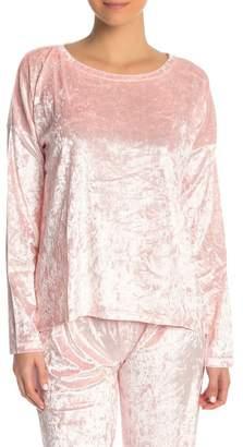 PJ Salvage Crushinit Velvet Long Sleeve PJ Tee
