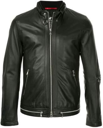 Loveless round neck zip jacket