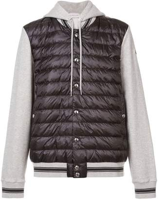 Moncler puffer Maglia cardigan jacket