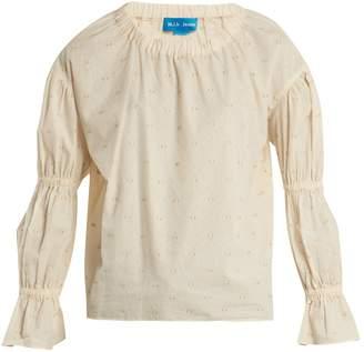 MiH Jeans Bubble fil coupé cotton-blend top