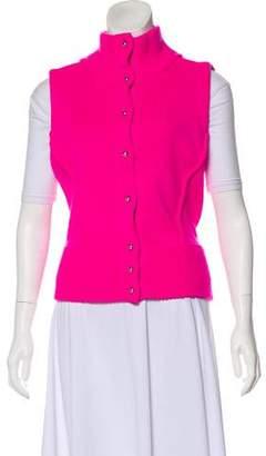 Bouchra Jarrar Wool & Alpaca-Blend Vest