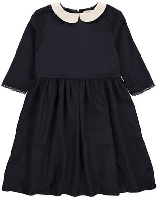 LES COYOTES DE PARIS Silk Jolie Dress with Peter Pan Collar $240 thestylecure.com