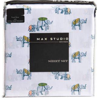 Elephant Surfer Sheet Set