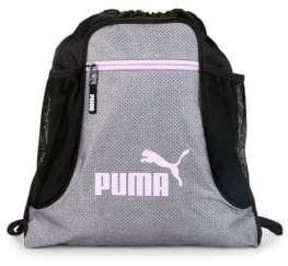 Puma Logo Drawstring Bag