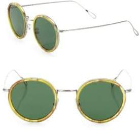 Kyme 46MM Round Sunglasses