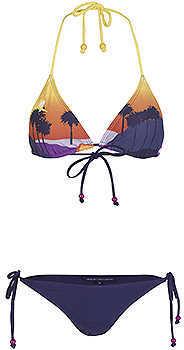 Sunset Boulevard Triangle Bikini