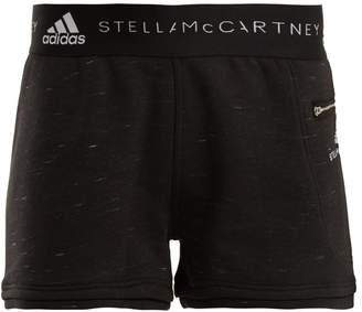 adidas by Stella McCartney Essentials cotton-blend shorts