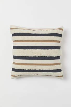H&M Fringed cushion cover