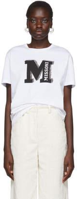 M Missoni White Missoni T-Shirt