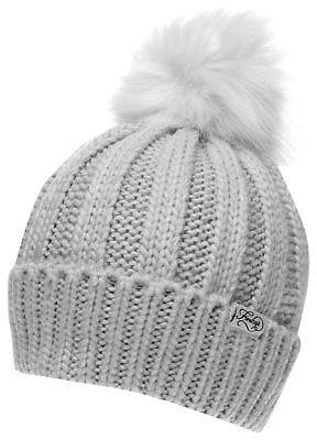 Firetrap Womens Cable Hat Beanie