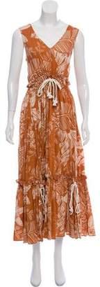 See by Chloe Printed Maxi Dress w/ Tags