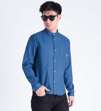 Whiz Blue Stand Shirt