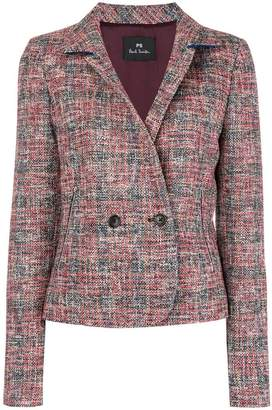 Paul Smith double-breasted tweed jacket