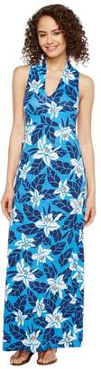 Tommy Bahama Olympias Blooms Sleeveless Maxi Women's Clothing