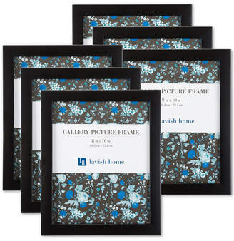 """Trademark Global 6-Pc. 8"""" x 10"""" Picture Frame Wall Gallery Set"""