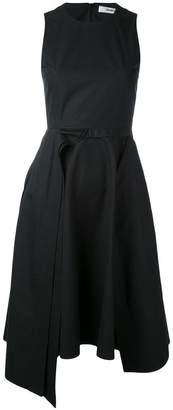 Chalayan layered A-line sleeveless dress