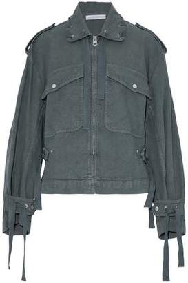 J.W.Anderson Lace-Up Cotton-Canvas Jacket