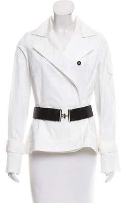 Kaufman Franco Kaufmanfranco Notch-Lapel Belted Jacket