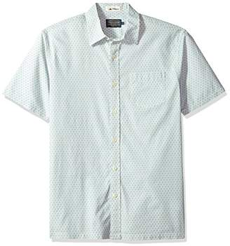 Pendleton Men's Short Sleeve Button Front Surf Print Shirt
