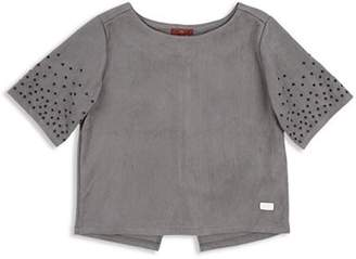 7 For All Mankind Girls' Studded Tee - Big Kid