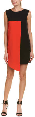 Milly Colorblocked Shift Dress
