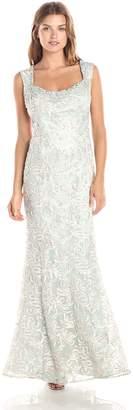 Ignite Women's Open Back Sutash Bodice Dress