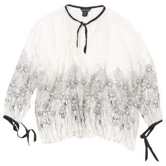 Thomas Wylde White Silk Tops