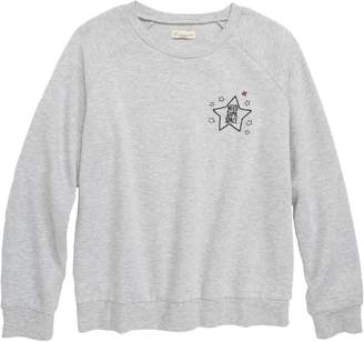 Tucker + Tate Need Some Space Embroidered Sweatshirt