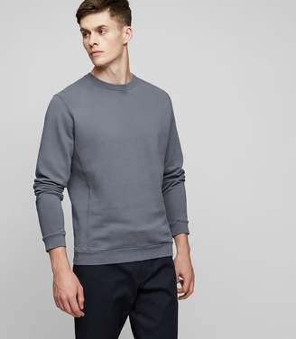 Reiss Fenton Brushed Cotton Sweatshirt