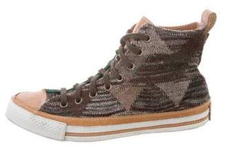 Converse Missoni x Knit High-Top Sneakers