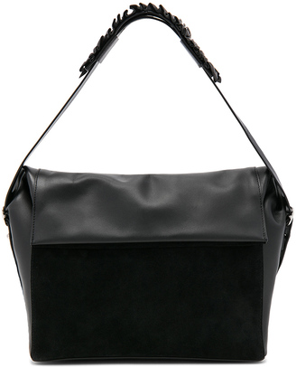 ALLSAINTS Maya Shoulder Bag $298 thestylecure.com